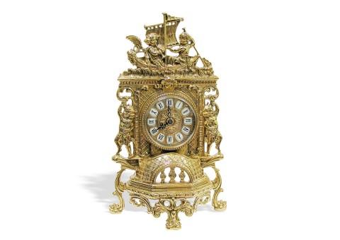 """Часы каминные """"Ангелы"""" плоские"""