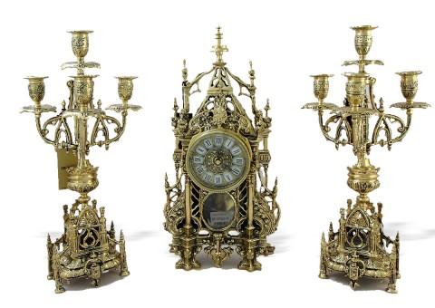 """Часы каминные """"Кафедрал"""""""