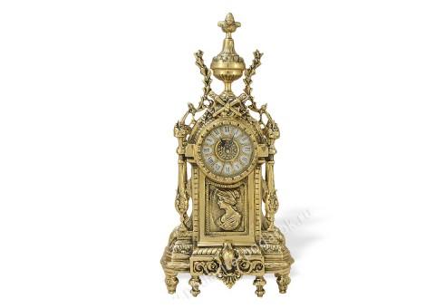 """Часы каминные """"Дон Луи"""" женский профиль"""