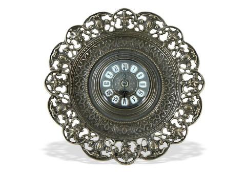 "Часы-тарелка настенные ""Барокко"""