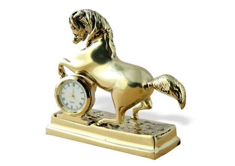 """Часы настольные """"Лошадь"""" фигурные"""