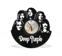 Часы из виниловой пластинки Deep Purple
