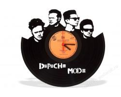 Часы из виниловой пластинки Depeche Mode