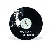 Часы из виниловой пластинки Marilyn Monroe