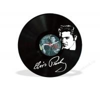 Часы из виниловой пластинки Elvis Presley