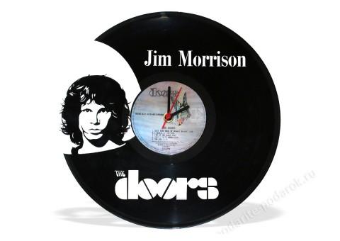 Часы из виниловой пластинки The Doors