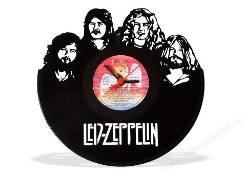 Часы из виниловой пластинки Led Zeppelin
