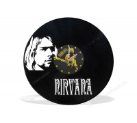 Часы из виниловой пластинки Nirvana