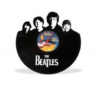 Часы из виниловой пластинки The Beatles