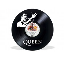 Часы из виниловой пластинки Queen