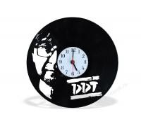 Часы из виниловой пластинки ДДТ
