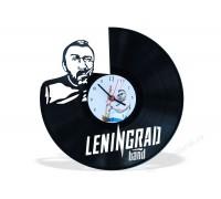 Часы из виниловой пластинки Ленинград