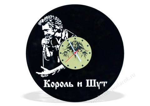 Часы из виниловой пластинки Король и Шут