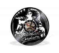 Часы из виниловой пластинки Michael Jackson