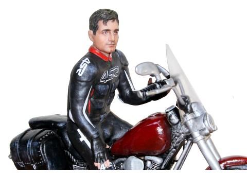 Байкер статуэтка по фото
