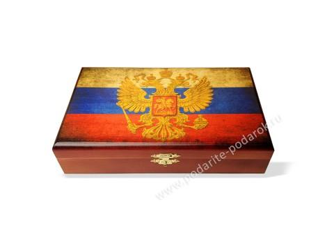 Домино подарочное Россия