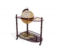 Глобус-бар напольный D 33 см со столиком