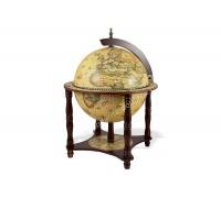 Глобус-бар напольный D 33 см светлый небесная сфера