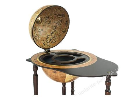 Глобус-бар напольный со столиком D 40 см Микеланджело