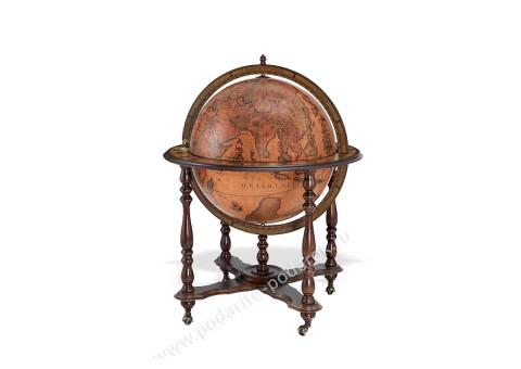 Глобус-бар напольный D 60 см Ахилл элитный