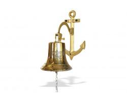 "Рында корабельный колокол ""Titanic 1912"" диаметр 14 см кронштейн Якорь"