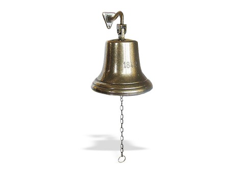 "Рында корабельный колокол ""1842"" диаметр 18 см"