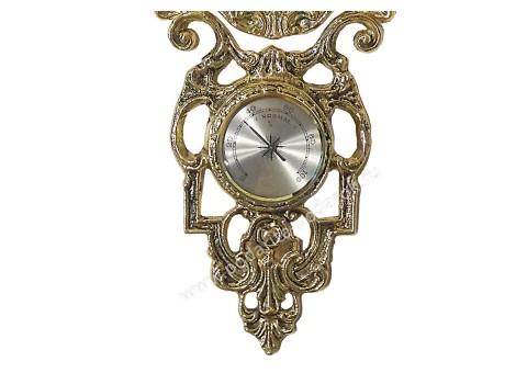 Часы с гигрометром и термометром 80 см