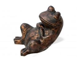 Садовая фигурка Лягушка бронза