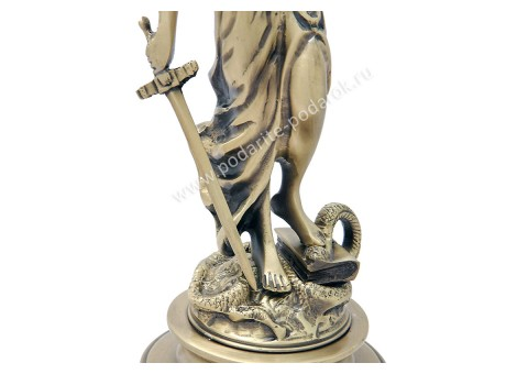 Статуэтка бронзовая Фемида