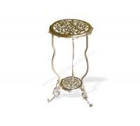 Столик металлический круглый