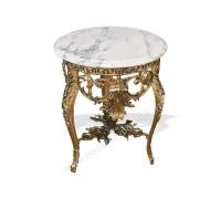 """Столик с мраморной столешницей """"Наполеон"""""""