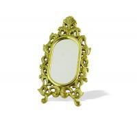 Зеркало настольное овальное на подставке