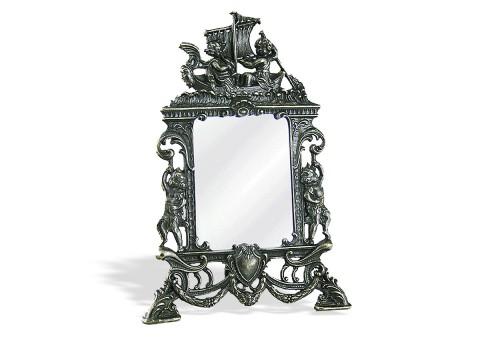 """Зеркало настольное на подставке """"Ангелы"""""""