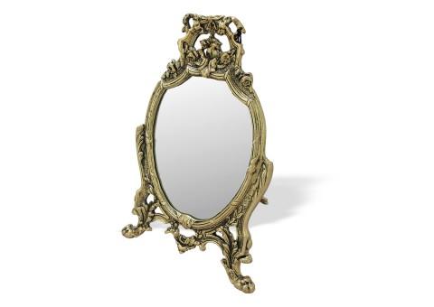 """Зеркало настольное """"Лачо"""" золото"""