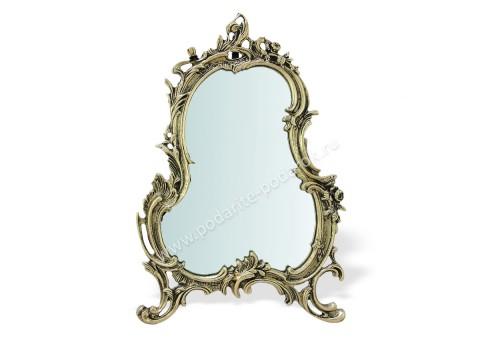 """Зеркало настольное """"Рамос"""" золото"""
