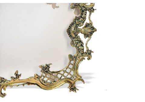 """Зеркало настенное большое """"Дон Луиш"""" золото"""