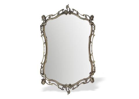 """Зеркало настенное в бронзовой раме """"Бикош"""""""