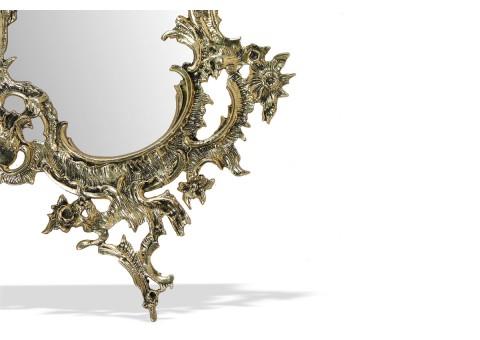 """Зеркало настенное под старину """"Дон Жоан"""" золото"""